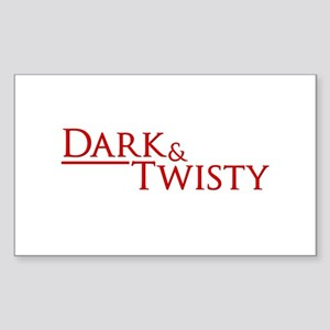 Dark & Twisty Sticker (Rectangle)