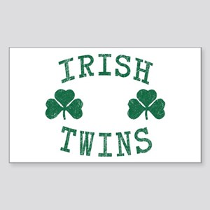 Irish Twins Sticker (Rectangle)