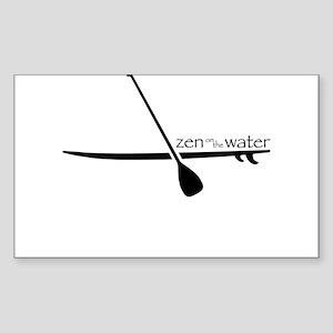 Zen on the Water Sticker
