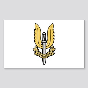 Who Dares Wins Sticker (Rectangle)