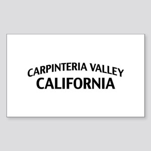 Carpinteria Valley California Sticker (Rectangle)