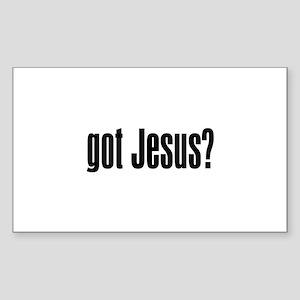 Got Jesus? Sticker (Rectangle)