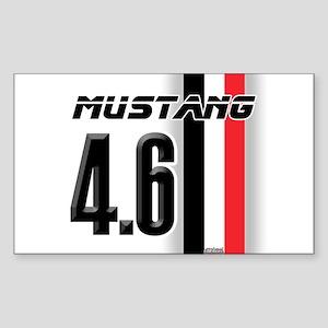 Mustang 4.6 Sticker (Rectangle)