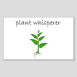 plant whisperer Sticker