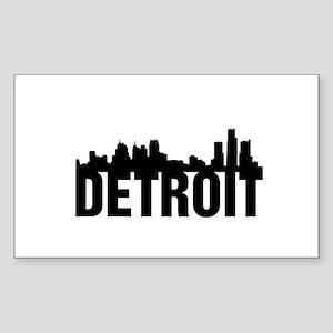Detroit City Sticker (Rectangle)