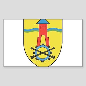 Instandsetzungsbataillon 11 Sticker (Rectangle)