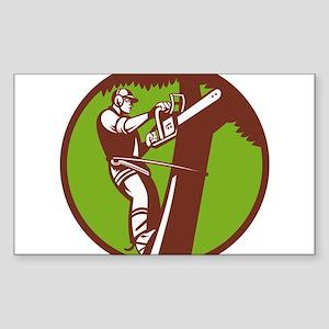 Arborist Tree Surgeon Trimmer Pruner Sticker