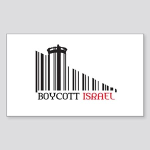 Boycott #X Sticker (Rectangle)