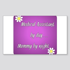 Medical Assistant by day Mommy by night Sticker (R