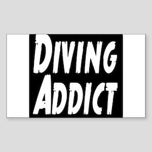 Diving Addict Sticker (Rectangle)