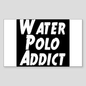 Water Polo addict Sticker (Rectangle)