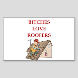 roofer Sticker (Rectangle)