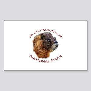 Rocky Mountain National Park...Marmot Face Design