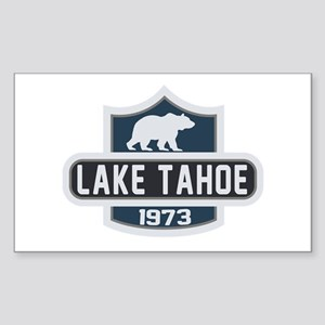 Lake Tahoe Nature Badge Sticker (Rectangle)
