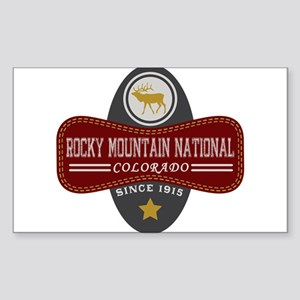 Rocky Mountain Natural Marquis Sticker (Rectangle)