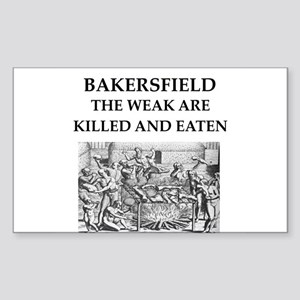 bakersfield Sticker (Rectangle)