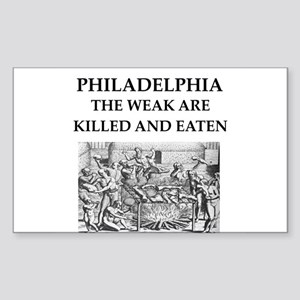 philadelphia Sticker (Rectangle)
