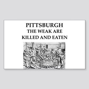 PITTSBURGH Sticker (Rectangle)