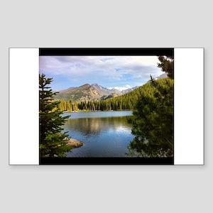 Bear Lake, Rocky Mountain National Park Sticker (R
