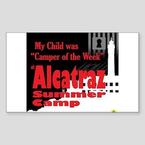 Alcatraz Summer Camp Sticker (Rectangle)