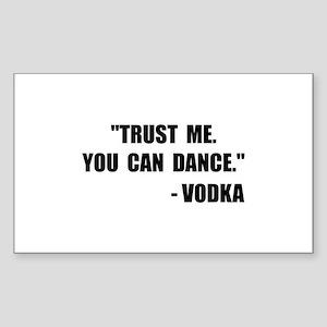 Vodka Dance Sticker