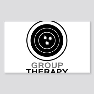 Group Therapy Sticker (Rectangle)