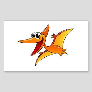 Cartoon Pterodactyl Sticker