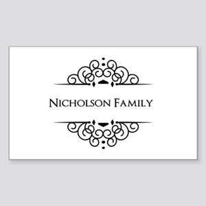 Personalized family name Sticker
