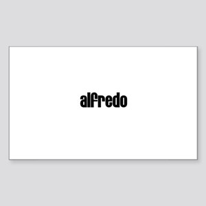Alfredo Rectangle Sticker