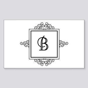 Fancy letter B monogram Sticker