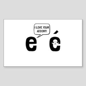Love Accent Sticker