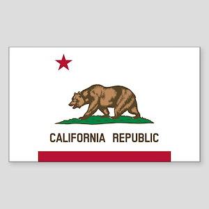 Flag of California Sticker