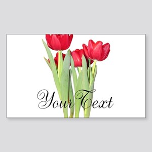 Personalizable Tulips Sticker