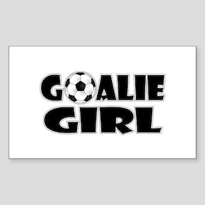 Goalie Girl - Soccer Sticker