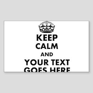 keep calm gifts Sticker