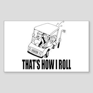 Funny Golf Quote Sticker