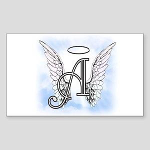 Letter A Monogram Sticker