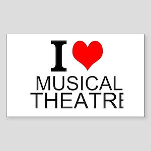 I Love Musical Theatre Sticker