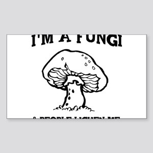 I'm A Fungi & People Lichen Me Sticker