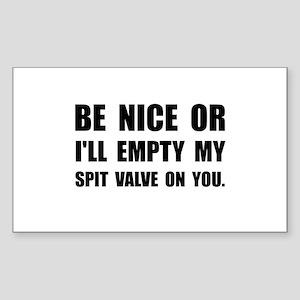 Empty My Spit Valve Sticker