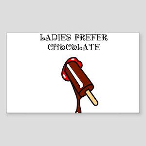 chocolate_1_TSHIRT Sticker