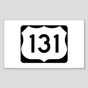US Route 131 Sticker (Rectangle)