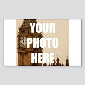 Your Photo Here Personalize It! Sticker