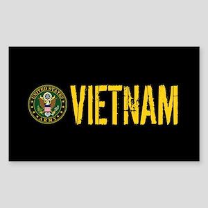 U.S. Army: Vietnam Sticker (Rectangle)