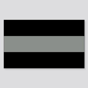 The Thin Grey Line Sticker (Rectangle)