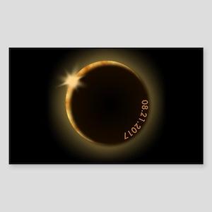 2017 total solar eclipse Sticker