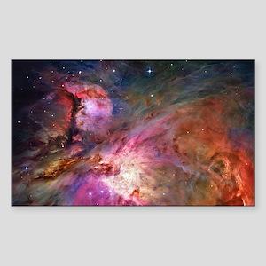 Orion Nebula Sticker (Rectangle)