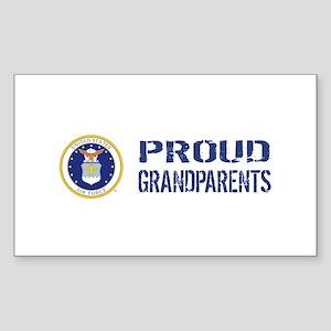USAF: Proud Grandparents Sticker (Rectangle)