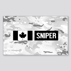 Canadian Military: Sniper (Arc Sticker (Rectangle)