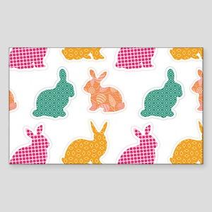 bunny Sticker (Rectangle)